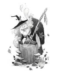 Inktober 03 - Witch