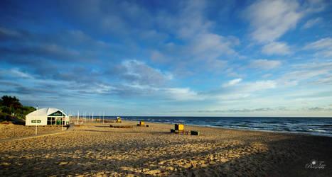 Baltic seaside by nellusatko