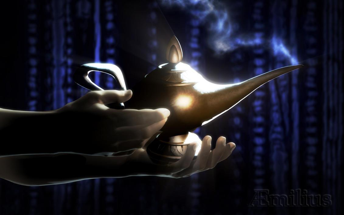 Wondrous Lamp by aemiliuslives on DeviantArt