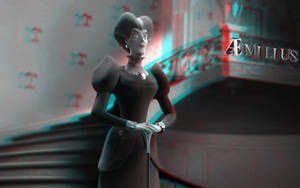 Lady Tremaine (anaglyph)