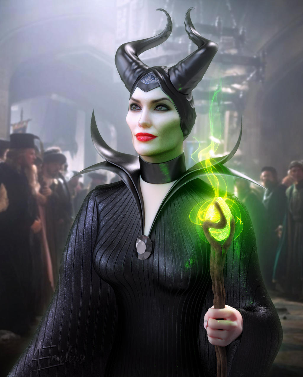 Maleficent 2014 By Aemiliuslives On Deviantart