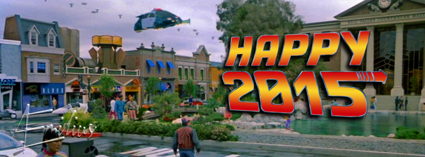 Happy 2015 BTTF style by AEmiliusLives