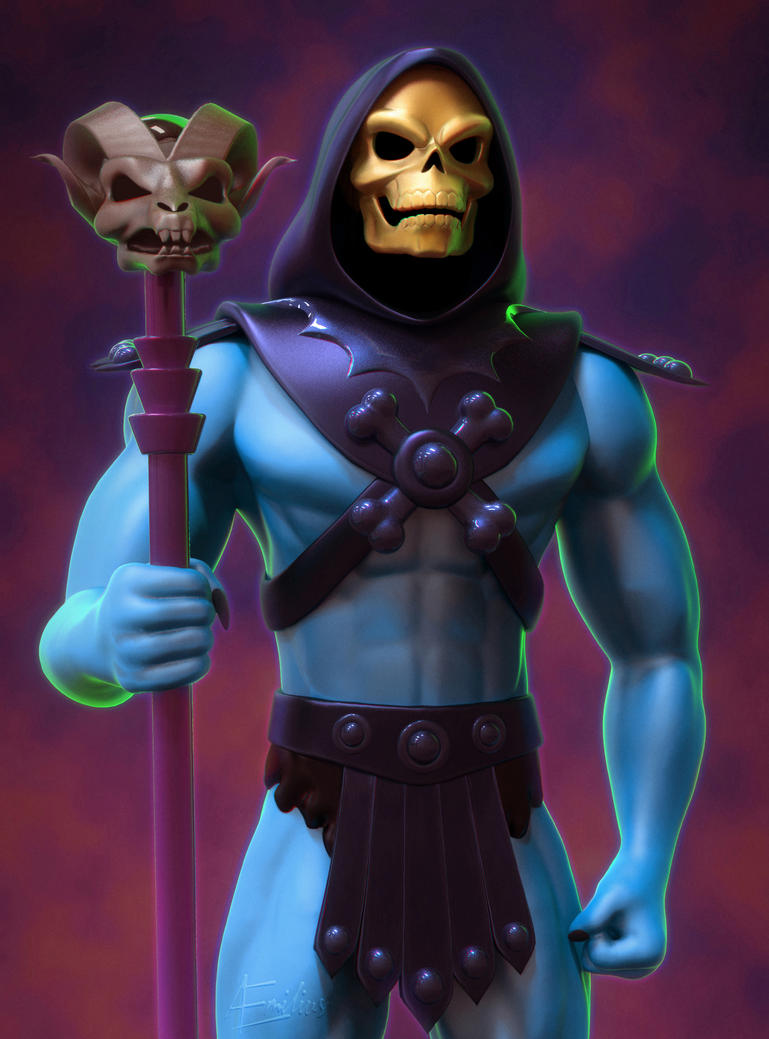 Skeletor by aemiliuslives