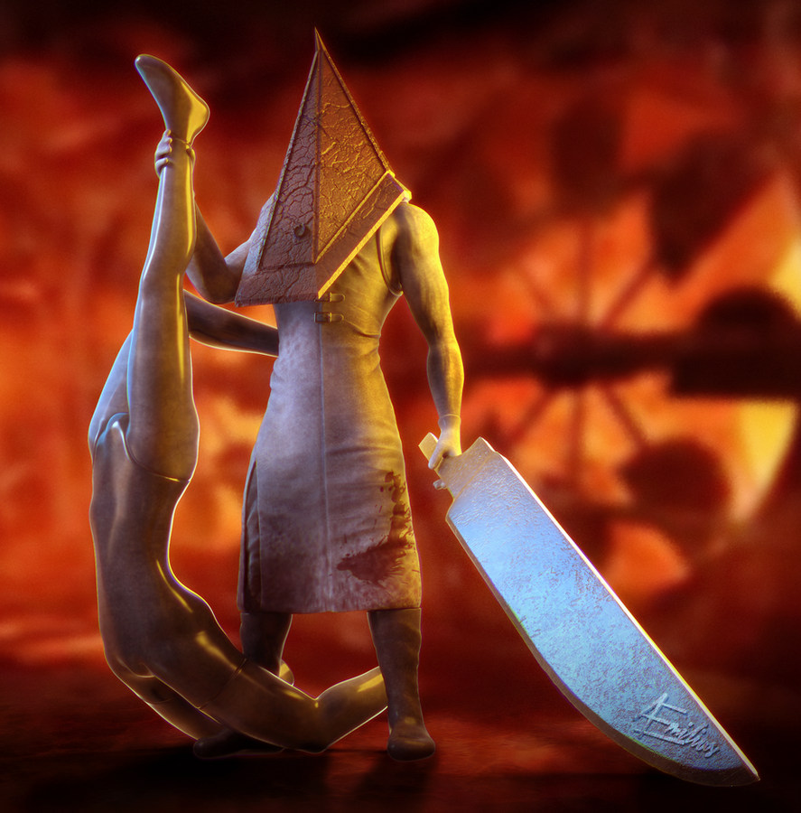 Pyramid Head by AEmiliusLives