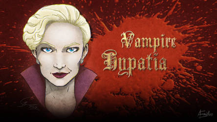 Vampire Hypatia by AEmiliusLives