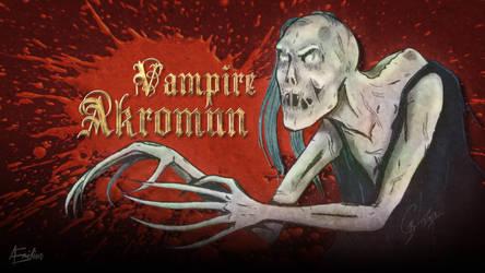 Vampire Akromun by AEmiliusLives
