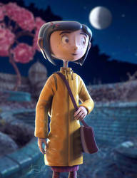 Coraline (Daily Sculpting Challenge 2019 - Day 3) by AEmiliusLives