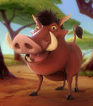 Pumbaa (Daily Sculpting Challenge 2019 - Day 6)