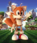 Tails (Daily Sculpting Challenge 2019 - Day 11)