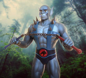 Panthro (Daily Challenge 2020 - Day 23)