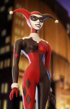 Harley Quinn (Daily Challenge 2020 - Day 24)