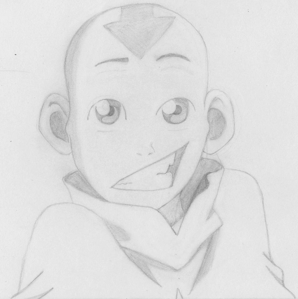 Avatar Movie Drawings: Avatar: The Last Airbender~ Avatar Aang By