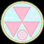 Nuketown Symbol - Pastel NukeTown