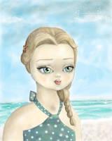 Beach Babe by gollydog
