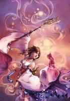 Yuna Dancing by mariposa-nocturna