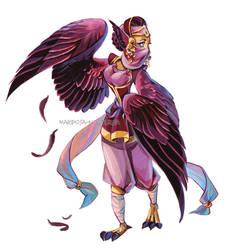 Harpy monster girl 01