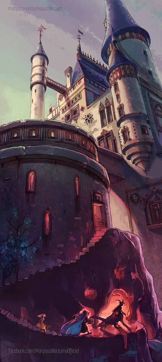 Beast Castle by mariposa-nocturna