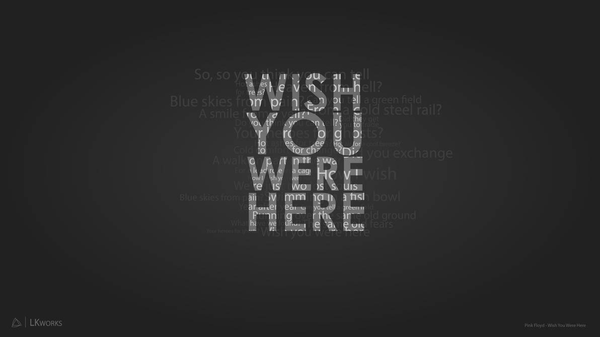 Pink Floyd Wish You Were Here Wallpaper By Lkjimy On Deviantart