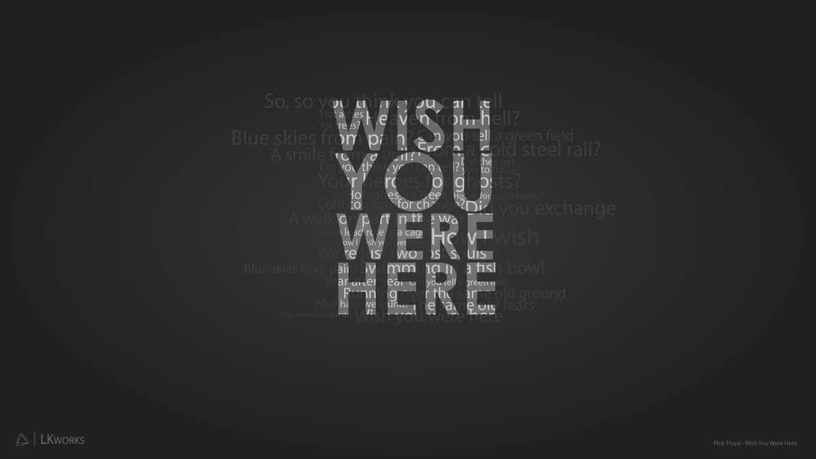Pink Floyd - Wish You Were Here - Wallpaper by lkjimy on ...