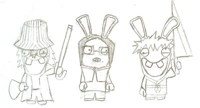 BLEACH rabbids