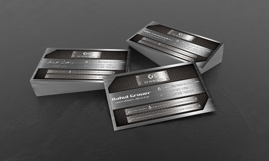 Business Card for GF Serenco by ristovicmilos