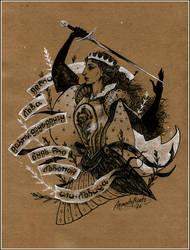 The Georgian Princess by ArgentoMorte