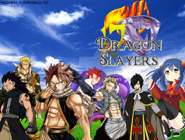 Fairy Tail Wallpaper Dragon Slayers By Conidark521