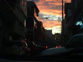 Sunset lights by conidark521
