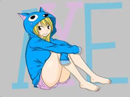 Lucy Heartfilia-Happy Outfit by conidark521