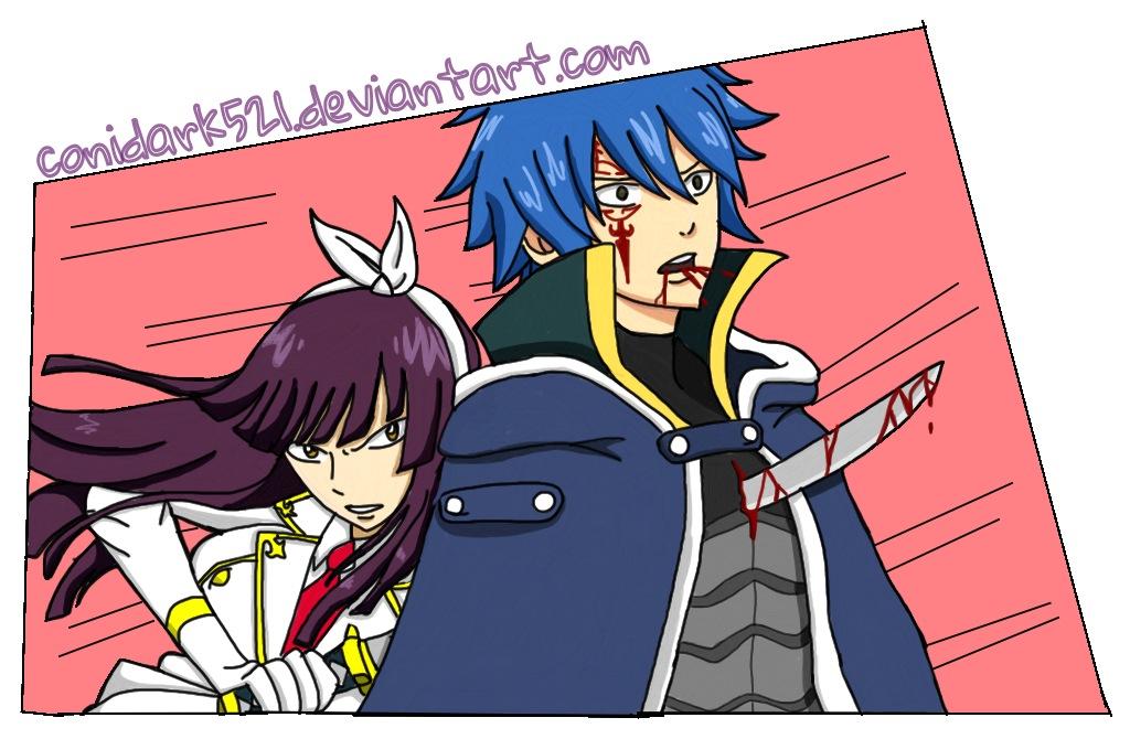 Kagura Kills Jellal-Fairy Tail FanArt by conidark521 on ...