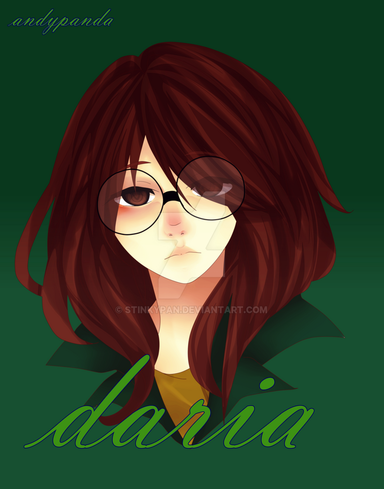 daria morgendorffer by stinkypan