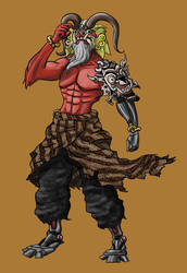 Cyborg Ksatria Naga by luqmanr