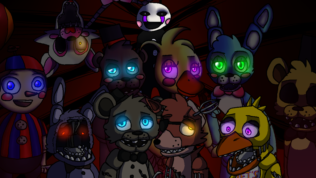 Five nights at freddys 2 by commander carrot on deviantart