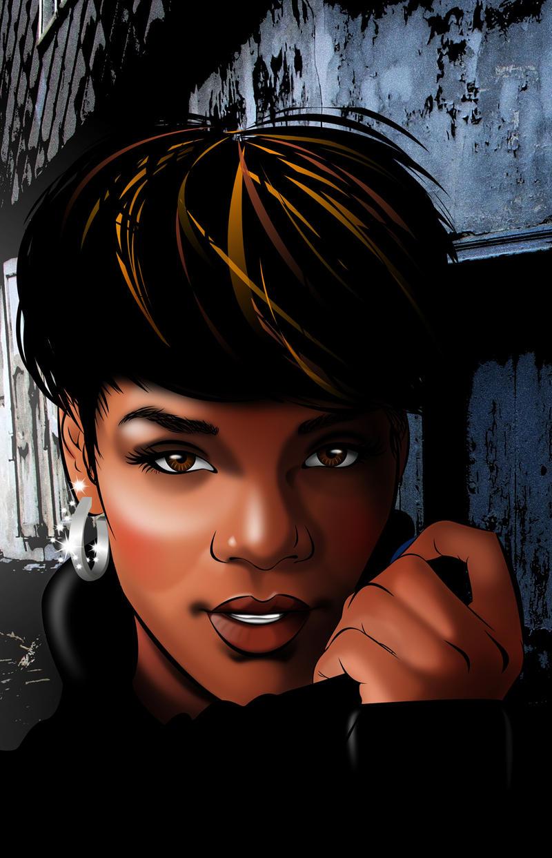 Negra in vector by pretojackson