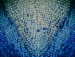 Butterfly Wing Scales by endprocess83
