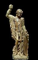 Skeleton Statue by chaseandlinda