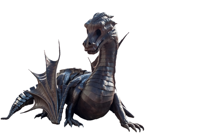 Dragon Statue PNG