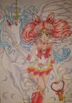 Super Sailor Chibi Moon and Pegasus
