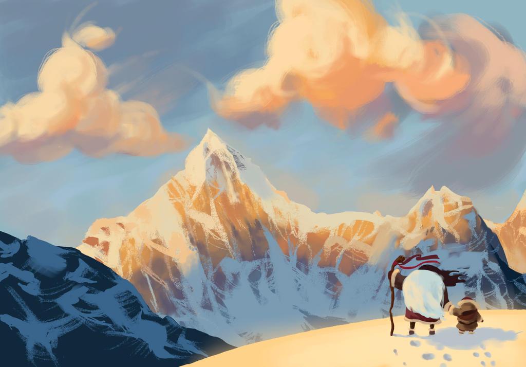 Mountains by Osadchikh