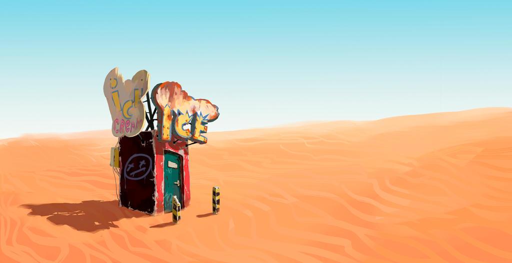ICE desert by Osadchikh