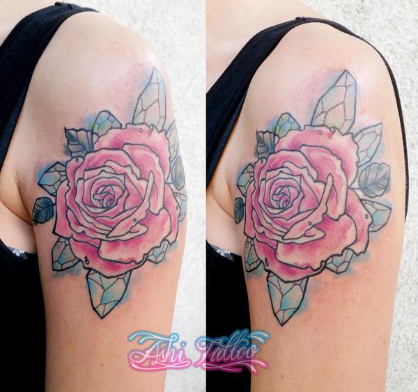 Crystal roses by Ashiwa666