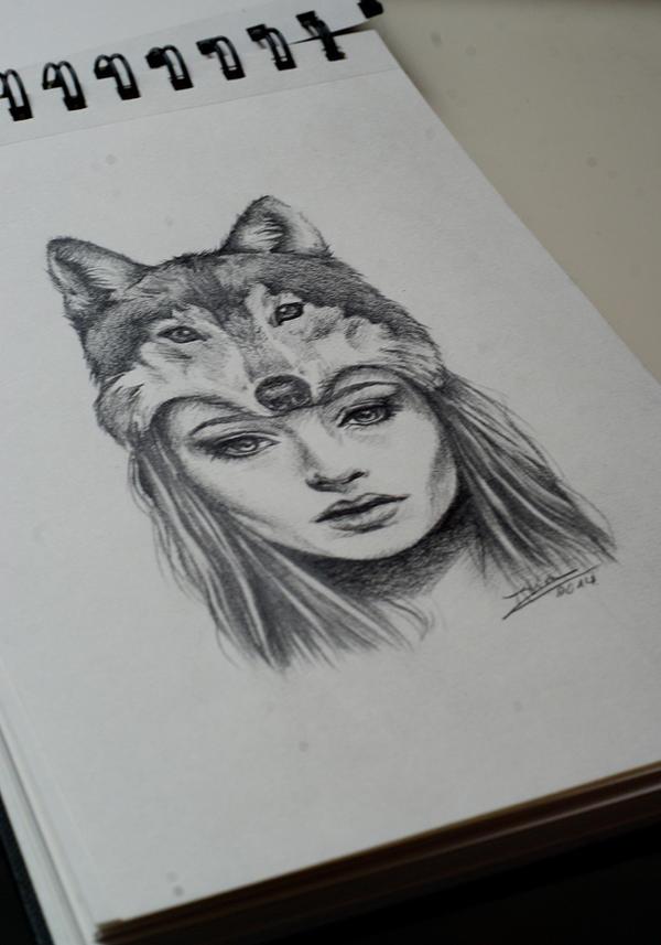 Wolf girl by Ashiwa666