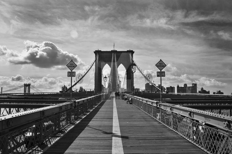 Brooklyn Bridge by AshiMonster