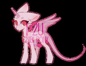 [P2U] Female chibi pony base
