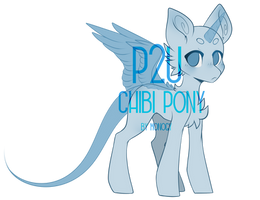 [P2U] Male chibi pony base