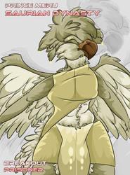 Prince Meru by AesirChronicler