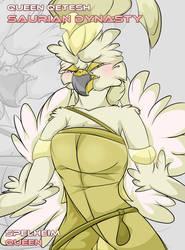 Queen Qetesh by AesirChronicler