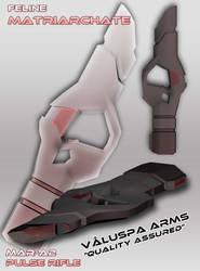 MAR-A2 Pulse Rifle by AesirChronicler