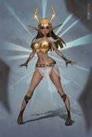 Feca Goddess (Wakfu fanart)