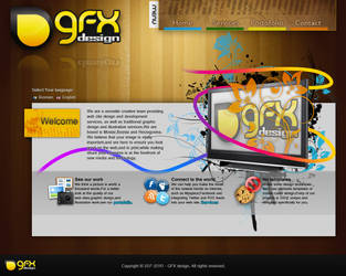 GFX web page by smitoo